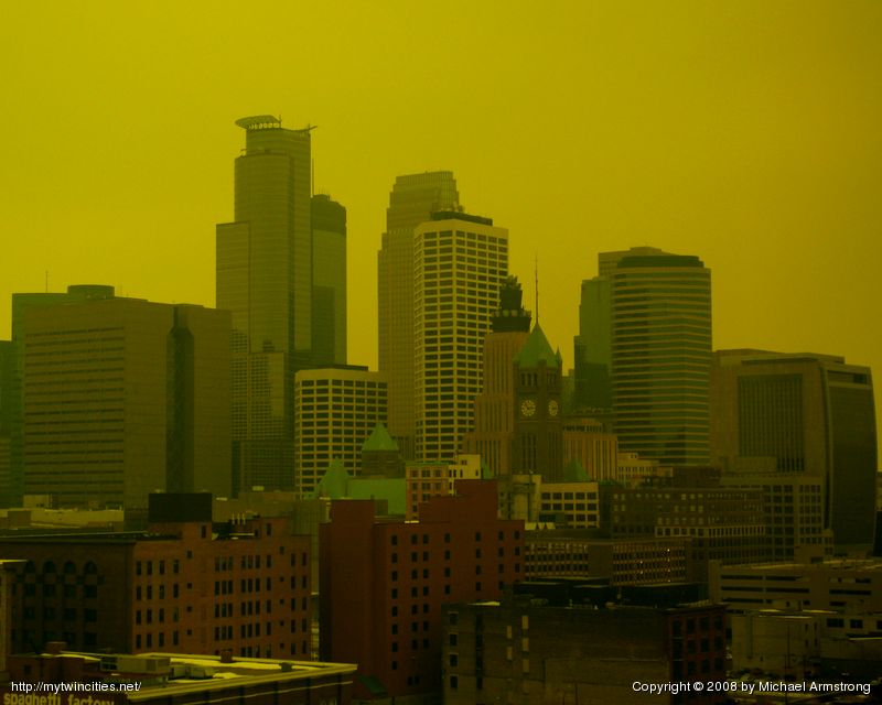 Skyline In Yellow