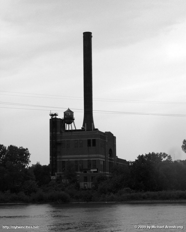 Smokestack on a Gray Day
