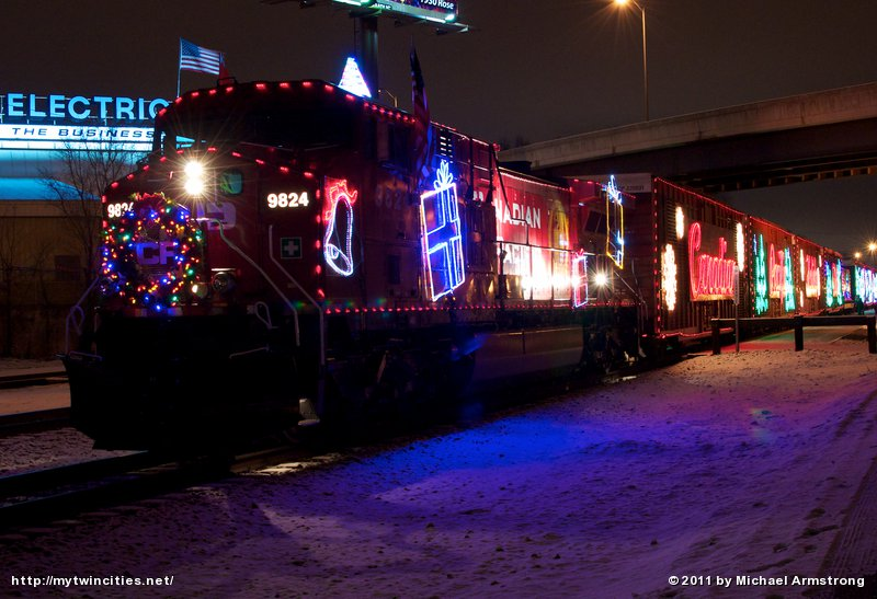 Holiday Train at La Crosse