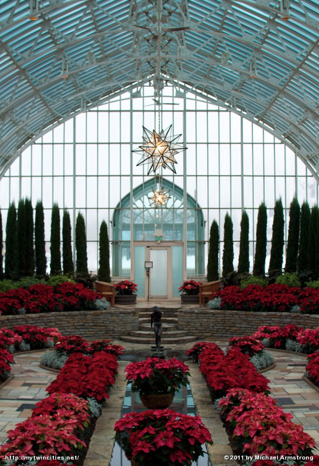 Christmas at the Sunken Garden